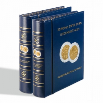 OPTIMA  coin album for 2€ commemorative coins III part (2018-2019 coins)