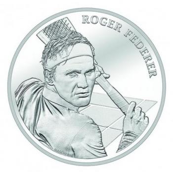 Roger Federer  -  Šveitsi 20 Fr 2020.a.  83.5 % hõbemünt 20 gr