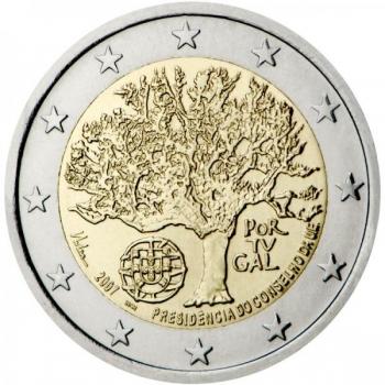 Portugali 2€ erikoisraha 2018 - 250 vuotta Ajudan kasvitieteellisen puutarhan (Jardim Botânico da Ajuda) perustamisesta