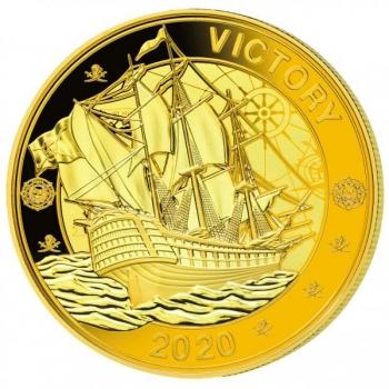 """""""Intian valtameren merirosvot""""- Seychellit 1 rupia 2020.v. kokonaisuus kolmesta rahasta, kultauksella"""