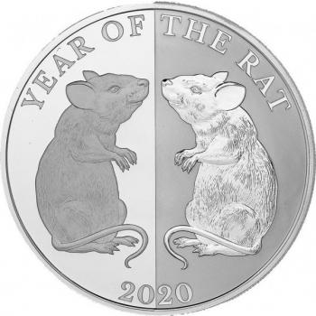 """Roti aasta 2020 - """"Peegelpilt"""", Tokelau 5 $, 99,9% hõbemünt, 31,1 g"""