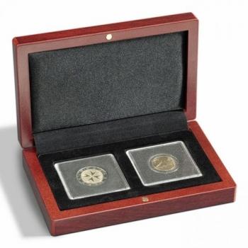 Футляр VOLTERRA для 2 монет в капсуле Quadrum