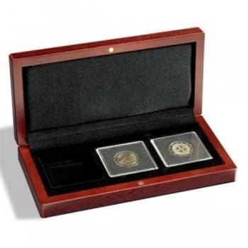 Футляр VOLTERRA для 3 монет в капсуле Quadrum