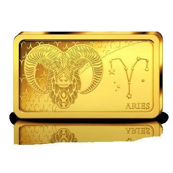 Sodiaagimärgid -Jäär  Saalomoni saarte 10 $ 2020.a  0,5 g 99,99% kuldmünt