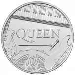 QUEEN Music Legends  United Kingdom 1£ 2020 99,9% silver coin 15,71g