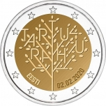 Estonia 2€ commemorative coin 2020 - The centenary of the Tartu Peace Treaty