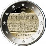 Saksamaa 2020.a. 2€ juubelimünt  - Brandenburg (liidumaade seeria)