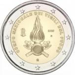 Italia 2€ erikoisraha 2020 -  80 vuotta Italian palolaitoksen Corpo Nazionale dei Vigili del Fuocon perustamisesta