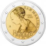 San Marino 2020 2 eur juubelimünt - Raffaeli 500. surma-aastapäev