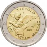 San Marino 2€ erikoisraha 2020 - Giovanni Battista Tiepolo