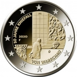 Germany 2€ commemorative coin 2020 - The 50th anniversary of Willy Brandt's Kniefall von Warschau