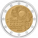 Slovakkia 2020. a 2 € juubelimünt - Slovakkia liitumine Majanduskoostöö ja Arengu Organisatsiooniga (OECD)
