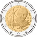 Vatican 2€ commemorative coin 2020 - 100th Anniversary of the Birth of Pope John Paul II