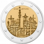 Lithuania 2€ commemorative coin 2020 - UNESCO Cultural Heritage - Kryžių Kalnas (the Hill of Crosses)