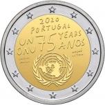 Portugali  2020. a 2€ juubelimünt - 75. aastat ÜRO asutamisest