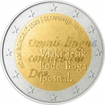 Slovenia 2€ commemorative coin 2020 - The 500th anniversary of the birth of Adam Bohorič