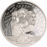 Number Pi  3.14$ Solomon Islands 2020  99,9% Silver Coin, 1 Oz