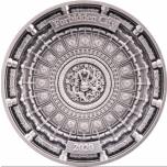 «Запретный город» -  Соломоновы Острова. 10 $ 2020 г. 99,9% серебряная монета, с антик обработкой, 100 г.