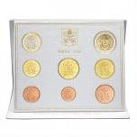 Годовой набор Евро монет Ватикан 2020 года  - комплект