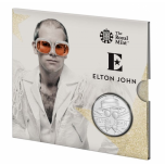 Elton John - Music Legends  United Kingdom 5£ 2020  Brilliant Uncirculated Coin