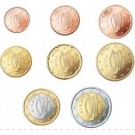 Годовой набор Евро монет Люксембурга 2012. года - комплект