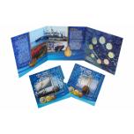 Годовой набор Евро монет Кипр 2020 года - комплект