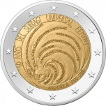 Andorra 2€ commemorative coin 2020 - 50 Years of Universal Suffrage in Andorra