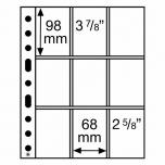 Лист GRANDE для купюр и открыток 3/3C (98 x 68 mm)