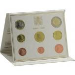 Годовой набор Евро монет Ватикан 209 года  - комплект
