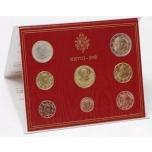 Годовой набор Евро монет Ватикан 2008 года  - комплект