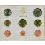 Годовой набор Евро монет Ватикан 2006 года  - комплект
