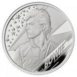 David Bowie -Musiikkilegenda.  Iso-Britannia 5 £ 99,9%  hopearaha 15,71 g