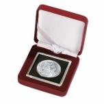 Футляр NOBILE для монет в капсуле Quadrum - Красный