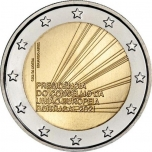 Portugal 2€ commemorative coin 2021 - Portuguese Presidency of the Council of the European Union