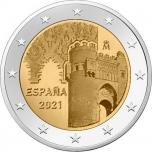 Spain 2€ commemorative coin 2021 - Historic City of Toledo