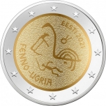 Estonia 2€ commemorative coin 2021 - The Finno-Ugric Peoples