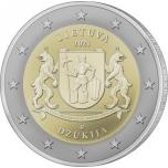 Leedu 2021 a 2€ juubelimünt  -  Dzūkija (Leedu etnograafiliste piirkondade seeriast)