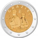 Italia 2€ erikoisraha 2021 - Terveydenhuollon ammattilaiset