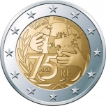 France 2€ commemorative coin 2021 - Unicef