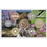 Набор ходовых монет Японий  2020 г -  100 лет охране исторических памятников