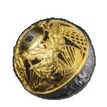 Рай и ад 3D - Самоа 5 $ 2021 г.  99,9% серебряная монета с позолотой и в технике филигрань