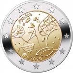 Malta 2€ erikoisraha 2020 - Lasten pelit ja leikit (coin card)