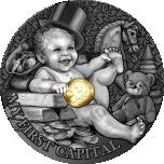 Minu esimene aardedmünt. Niue Saarte 1 $ 2021.a. osalise kullatisega 1/2untsine 99.9% hõbemünt
