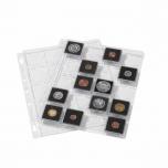 Plastikleht ENCAP SNAP Quadrum kapslis müntidele 2 lehte pakis