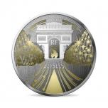 Champs-Élysées  Prantsusmaa 10€ 2020.a.  90% hõbemünt. 22.2 g