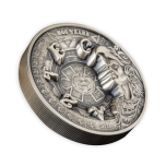 Древний Египет оживает на большой монете в 1 кг серебра! -  Самоа 25 $ 2020.г. 99.9% серебряная монета с антик обработкой. 1 килограмм