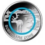 """Saksamaa 2020 .a. 5€ polümeerringiga münt """"Lähisarktiline kliimavööde"""""""