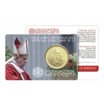 Vatican 50 cents 2021. Coin card