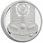 The Who Music Legends  United Kingdom 1£ 2021 99,9% silver coin 15,71g