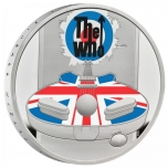 The Who. Music Legends  United Kingdom 2 £ 2021 99,9% silver coin 1 oz